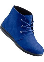 Lederfreizeitstiefel, bpc bonprix collection, blau