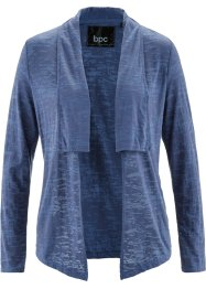 Langarm-Shirtjacke, bpc bonprix collection