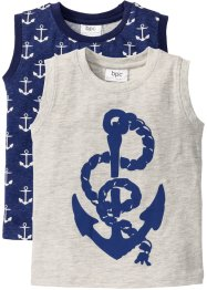 Tank-Top (2er-Pack), bpc bonprix collection