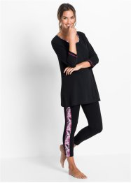 Pyjama mit 7/8-Leggings, bpc bonprix collection