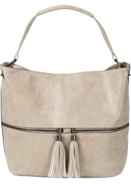 Tasche, bpc bonprix collection, helltaupe