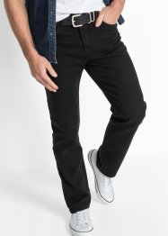 Stretch-Jeans Classic Fit Straight, John Baner JEANSWEAR, schwarz
