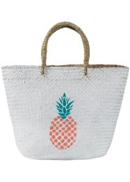 Strandtasche mit Ananas-Print, bpc bonprix collection