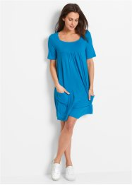 Shirt-Kleid, Halbarm, bpc bonprix collection, capriblau