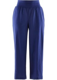 7/8-Leinenhose, Loose-Fit, bpc bonprix collection