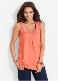Top, bpc bonprix collection, lachs