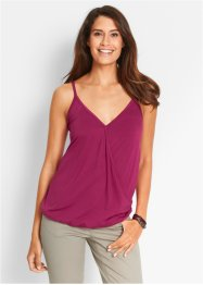 Top, bpc bonprix collection, beerenrot