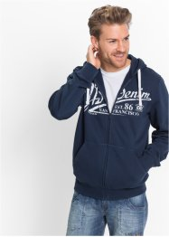 Sweatjacke mit Kapuze Regular Fit, John Baner JEANSWEAR