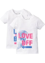 "Shirt ""BFF"" (2er-Pack), bpc bonprix collection"