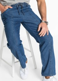Schlupf-Hose, Classic Fit Straight, bpc bonprix collection, blau