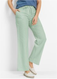 Leinenhose, bpc bonprix collection, hellschilf