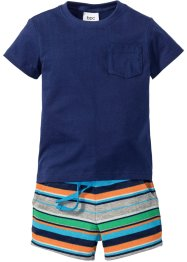 T-Shirt + Sweatshorts (2-tlg.), bpc bonprix collection