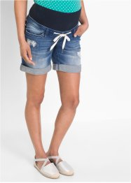 Umstands-Jeansshorts mit Bindeband, bpc bonprix collection