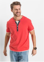 Henley T-Shirt Regular Fit, John Baner JEANSWEAR