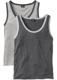 Muskelshirt (2er-Pack), Regular Fit, bpc bonprix collection
