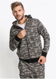 Funktions-Sweatjacke Slim Fit, RAINBOW