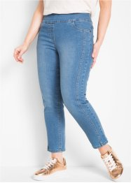 Hoch geschnittene 7/8-Stretch-Jeans, bpc bonprix collection