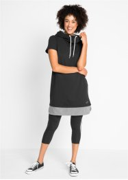 Wellness-Kleid mit Leggings (2-tlg.), bpc bonprix collection
