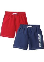 Badeshorts Jungen (2er-Pack), bpc bonprix collection