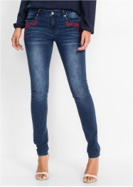 Stretchjeans mit Stickerei, BODYFLIRT