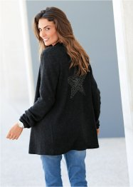 Premium Strickjacke mit Kaschmir und Applikation, bpc selection premium