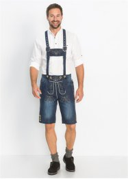 Trachten-Jeansbermuda Regular Fit, bpc selection