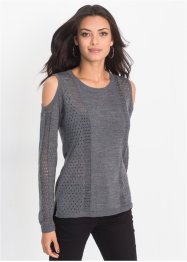 Strickpullover mit Cut-Outs, BODYFLIRT