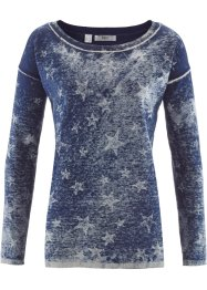 Feinstrick-Pullover im Used-Look, bpc bonprix collection