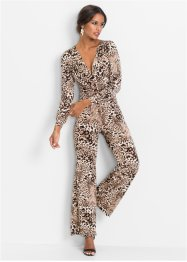Jumpsuit mit Leoprint, BODYFLIRT boutique