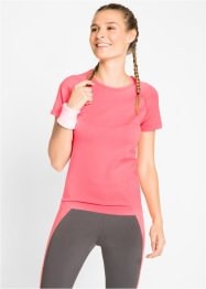 Seamless-Sport-Shirt mit kurzen Ärmeln, bpc bonprix collection