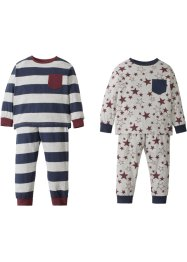 Pyjama (2er-Pack), bpc bonprix collection