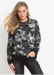 Sweatshirt mit Pailletten, RAINBOW