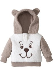 Baby Teddy-Fleecepullover, bpc bonprix collection