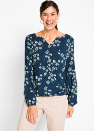 Weite Langarm-Bluse, bpc bonprix collection