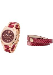 Set Uhr+Armband, bpc bonprix collection