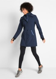 Stretch-Softshell-Langjacke, bpc bonprix collection