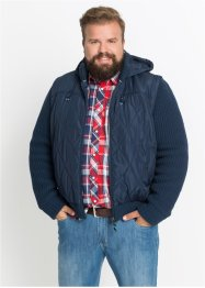 Jacke mit Strickärmeln Regular Fit, John Baner JEANSWEAR