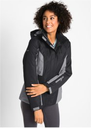 Wattierte Funktions-Outdoorjacke mit Kapuze, bpc bonprix collection