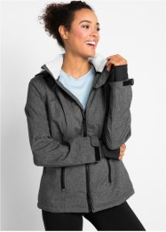 Funktions-Outdoorjacke mit Teddyfleece, bpc bonprix collection