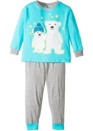 Pyjama GLOW IN THE DARK (2-tlg.), bpc bonprix collection