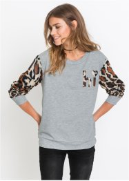 Sweatshirt mit Applikation, RAINBOW