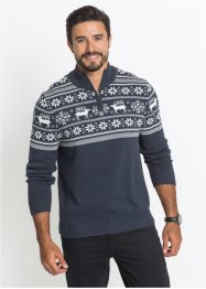 Stehkragen-Pullover Regular Fit, bpc bonprix collection