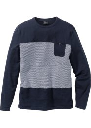 Pullover mit Tasche Regular Fit, bpc bonprix collection