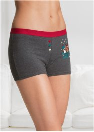 Damen Boxer mit Tierdruck (4er-Pack), bpc bonprix collection