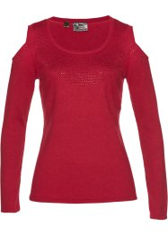 Premium Cold-Shoulder-Pullover, bpc selection premium