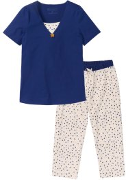Pyjama mit 3/4 Hose, bpc selection