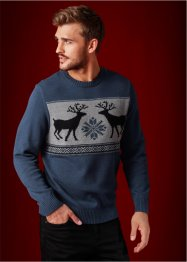 Rundhals-Pullover Regular Fit, bpc bonprix collection
