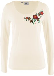 Langarm-Shirt mit Stickerei, bpc bonprix collection