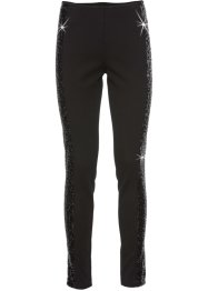 Leggings mit Pailletten, BODYFLIRT