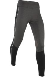 Lange Thermo-Laufhose mit reflektierenden Details, bpc bonprix collection